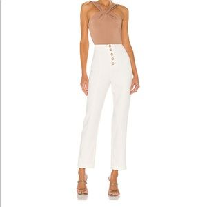 Lovers and Friends Metropolis pant in Snow White